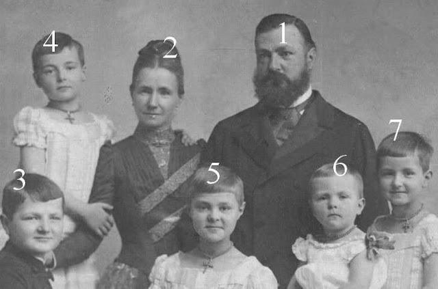 Heinrich XXII. Fürst Reuß ältere Linie, Ida zu Schaumburg-Lippe, Kinder: