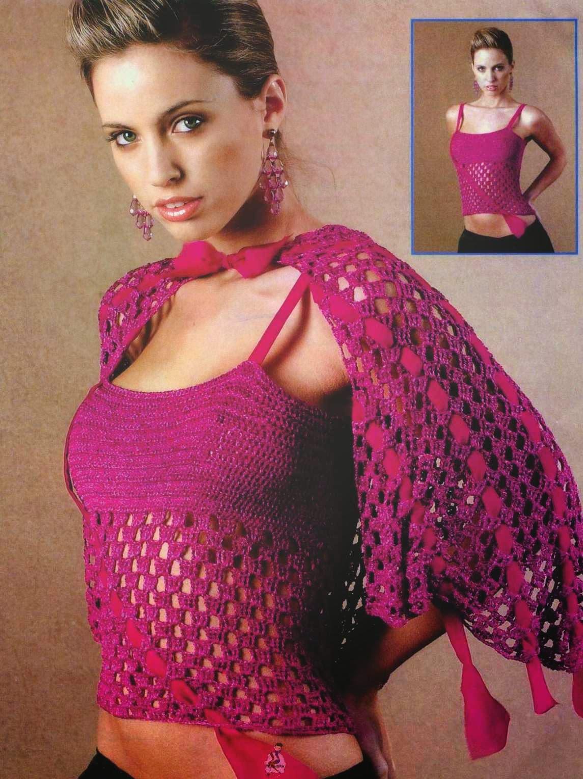 #65 Ramera a Crochet con Capita