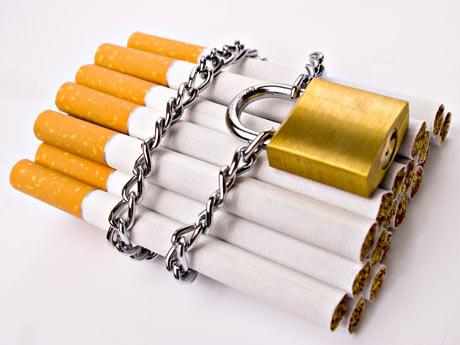 Dejar fumar y no reponer tabeks