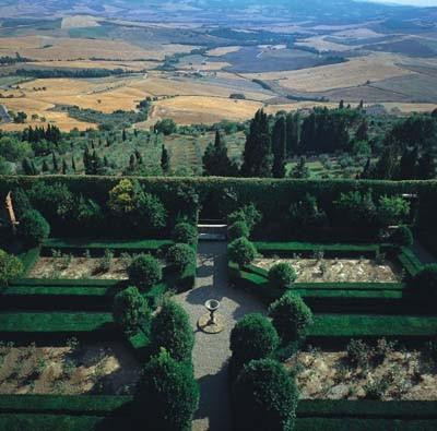 Verde progetto il giardino all 39 italiana - I giardini di palazzo rucellai a firenze ...