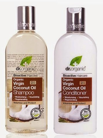 dr organic aceite de coco champu acondicionador