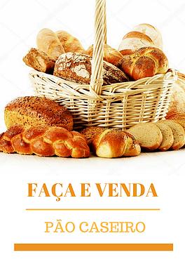 PÃES CASEIROS VARIADOS