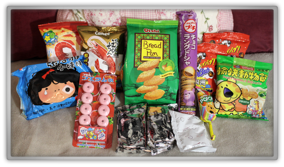 ABCDEat November box unboxing review subscriptionbox snacks snack chinese asian food season candy autumn hong kong genie geniesfavproducts