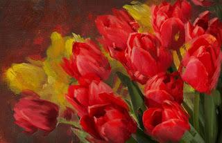 Flores Abstractos Cuadros Modernos