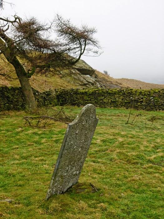 Burial ground, Fox's Pulpit, Cumbria. bit about Britain.