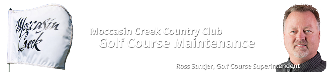 Moccasin Creek Maintenance Blog