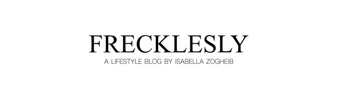 FRECKLESLY BY ISABELLA ZOGHEIB