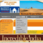 Incredible India Website Review - Click to view PDF