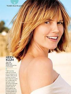 Heidi Klum tanpa makeup