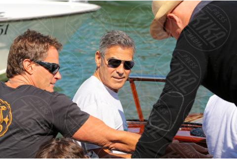 George Clooney arrives in Venice Venise3