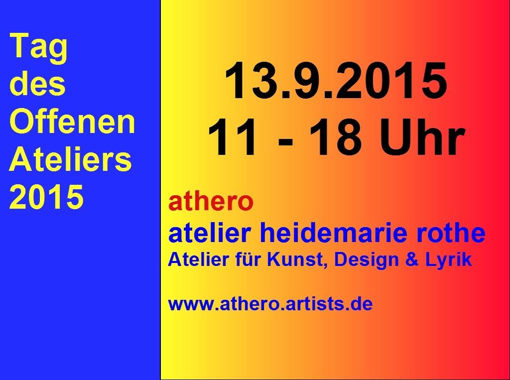Tag des offenen Ateliers 2015