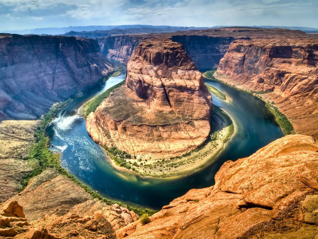 Horseshoe Bend, Colorado River, Arizona, USA | Natural ...