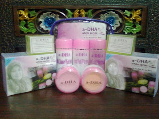 Cream A-Dha White Series Pemutih Wajah