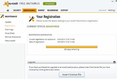 Avast Antivirus 2014 With 1 Year License Key