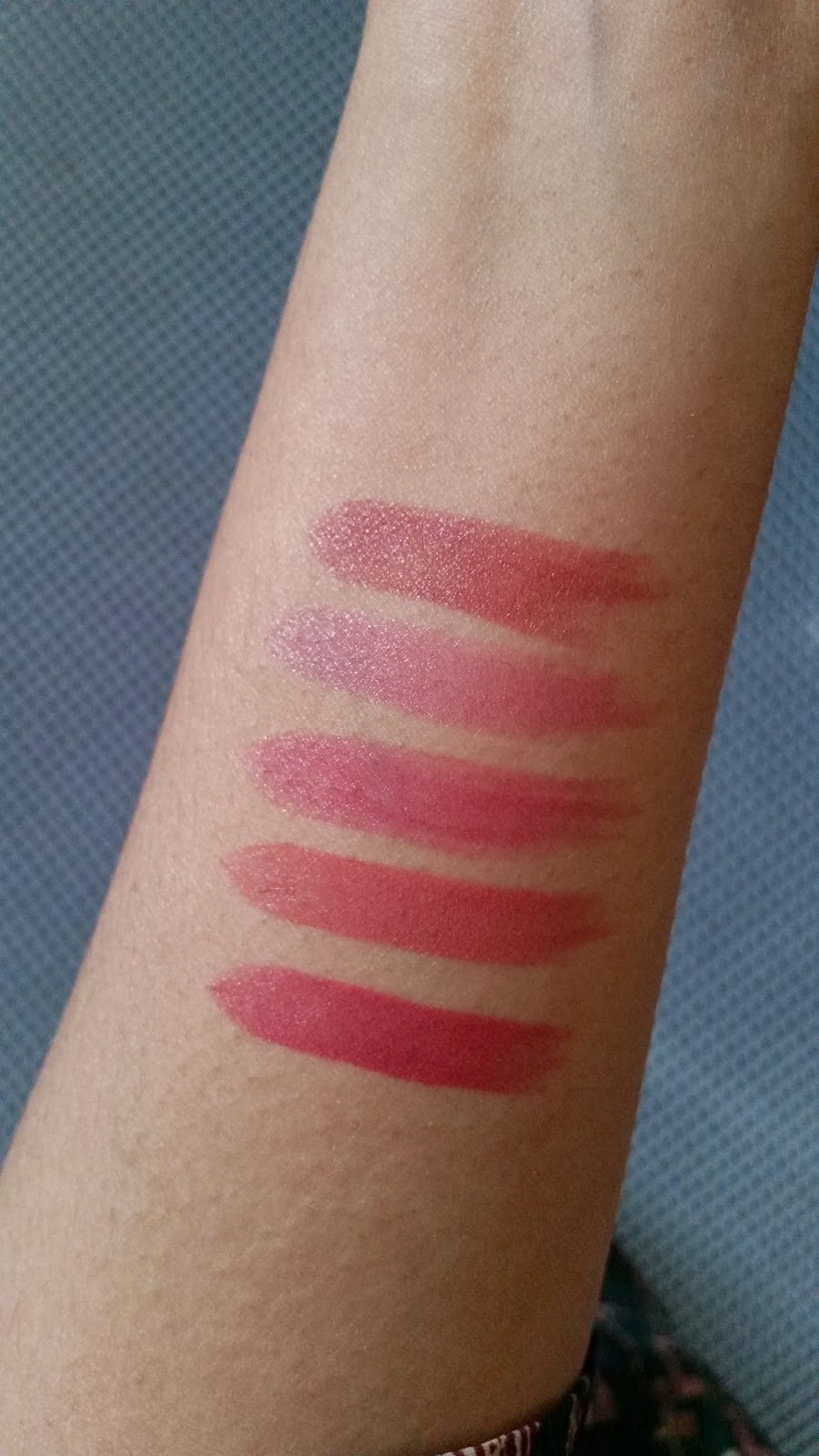MAC creme in your coffee, syrup, plumful, cosmo, craving swatches