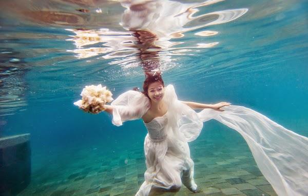 Chụp ảnh cưới biển lãng mạn tại Nha Trang