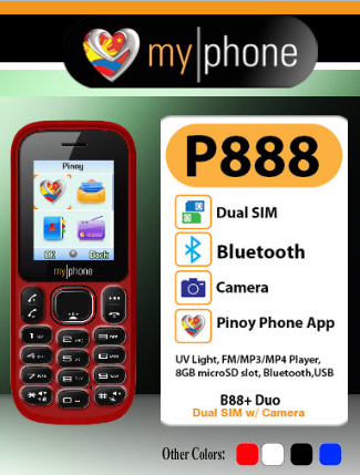 MyPhone B88+ Duo Dual Sim Camera Phone