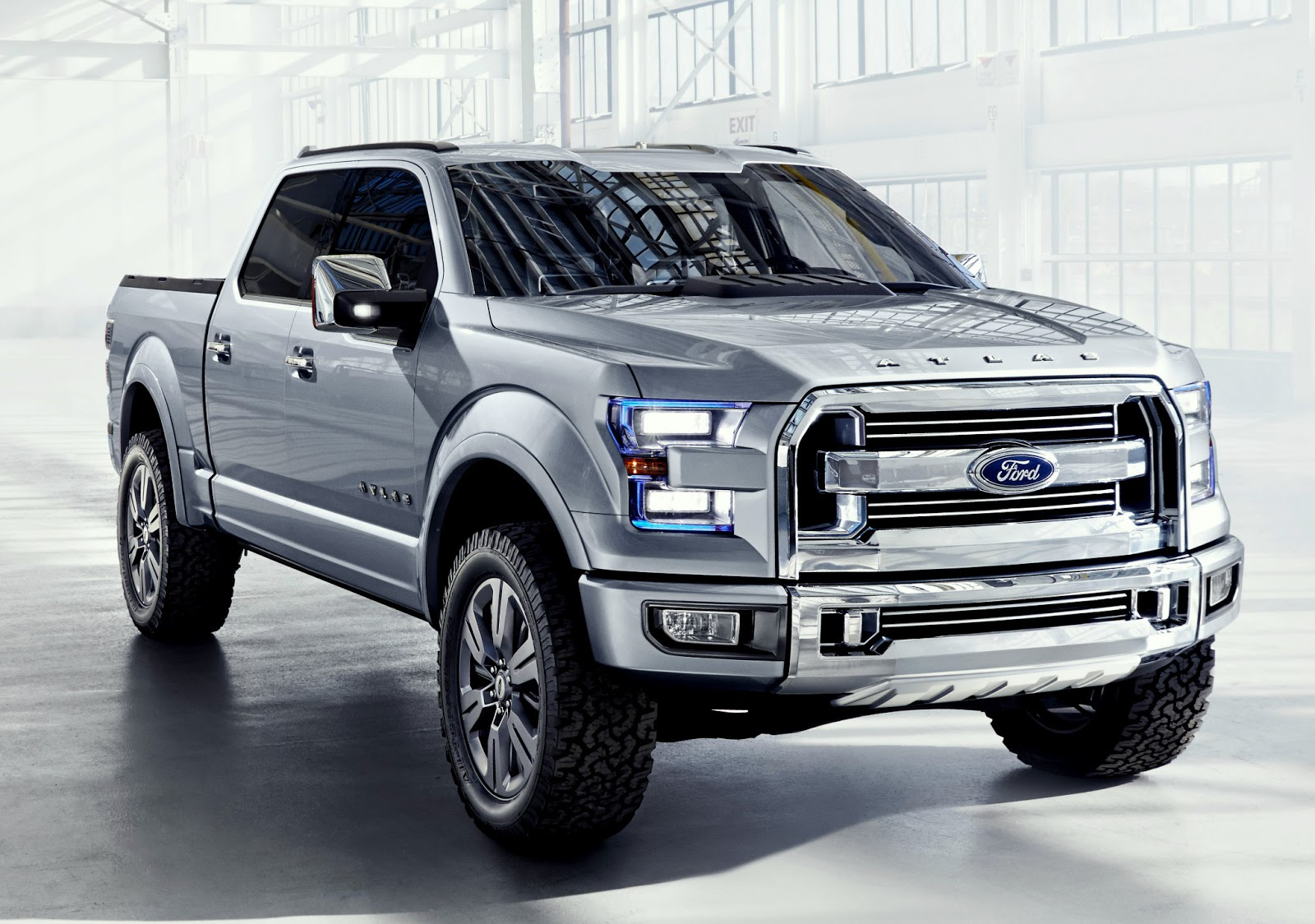 Ford Atlas Concept Previews The Future Of Next Built Tough Pickup