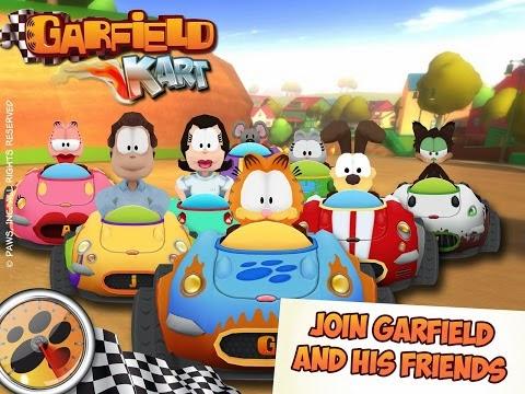 Garfield Kart Fast and Furry Gameplay