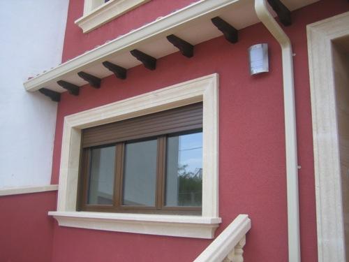 Molduras y decoraci n molduras exteriores - Molduras para ventanas exteriores casas ...
