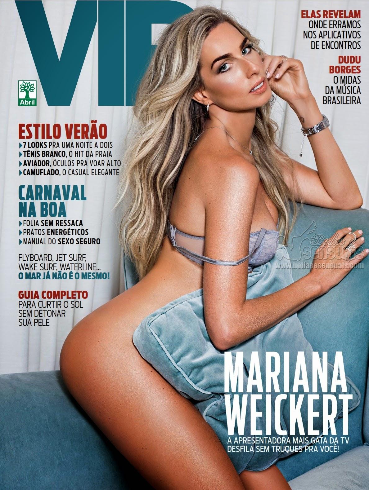 Revista Vip Mariana Weickert Fevereiro De