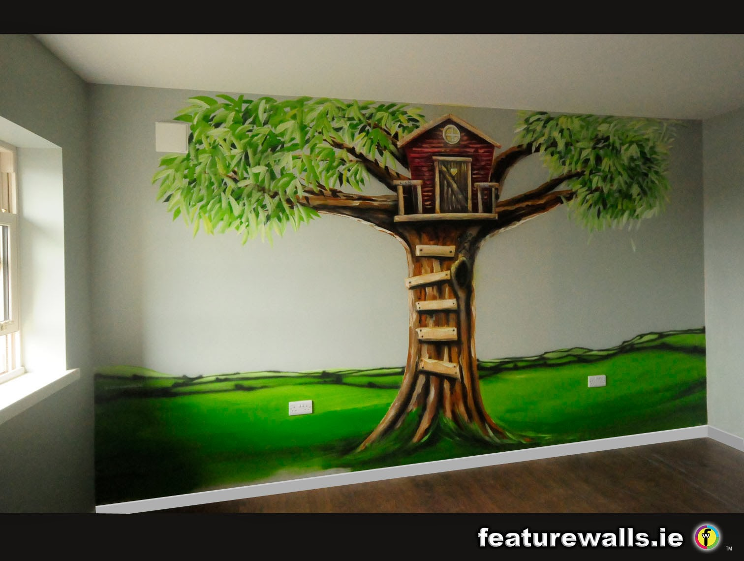 Mural painting professionals murals can for Children s room mural