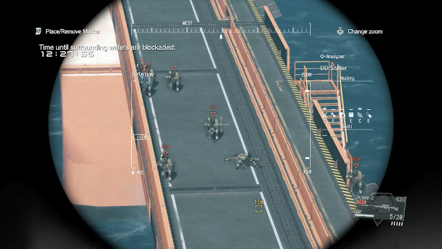 Metal Gear Solid V: The Phantom Pain fob alarm