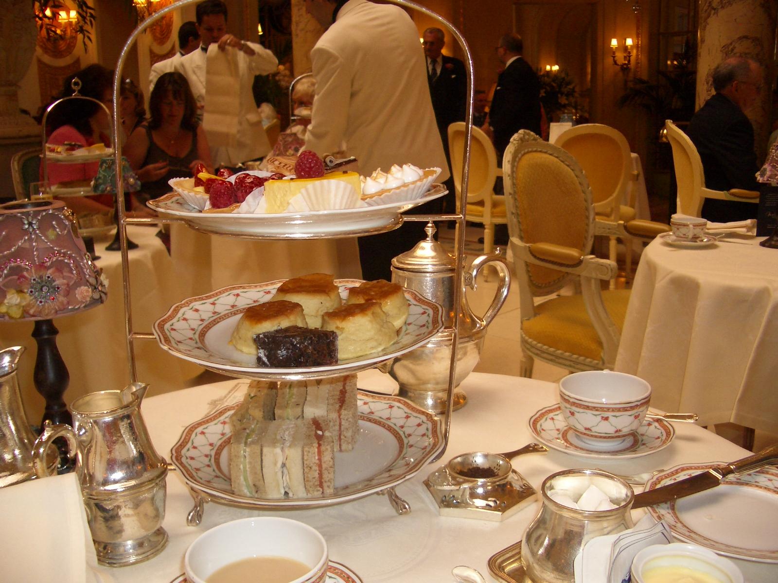 Caroline Makes....: Afternoon Tea - Tea at the Ritz