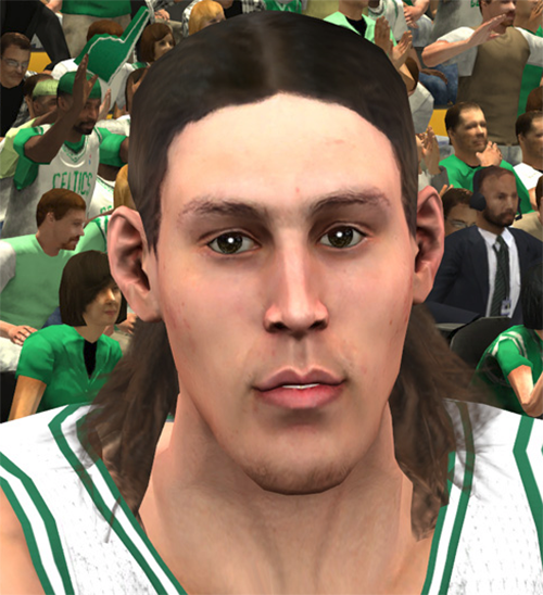 NBA 2K14 Kelly Olynyk Face Mod