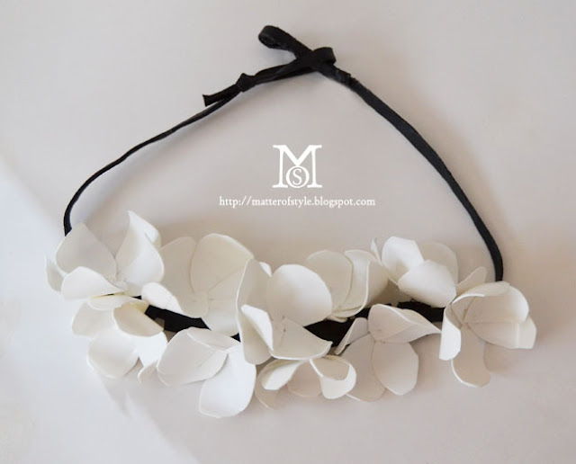 diy, jewelry diy, marni h m, fashion DIY, marni diy, recycle plastic,how to recycle plastic,plastic necklace diy,spring 2012