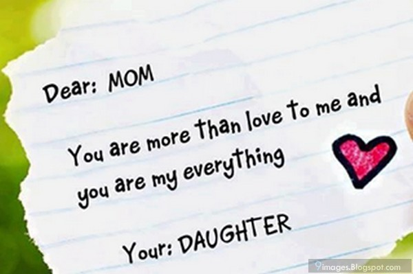 I Love You Quotes Daughter To Mother : Love You Mom Quotes From Daughter. QuotesGram