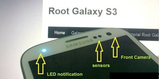 how to set galaxy s3 notifications