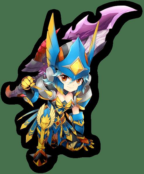 Dragomon Hunter warrior