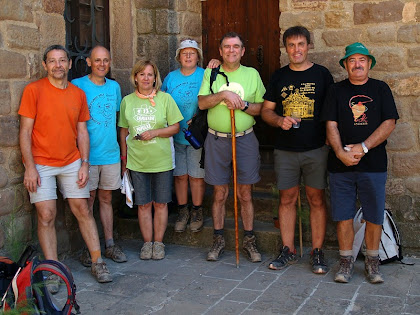 Caminada de L'Estany 2011 amb els amics Joan de Manresa i Joan de Salelles