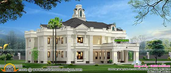 Colonial style India house