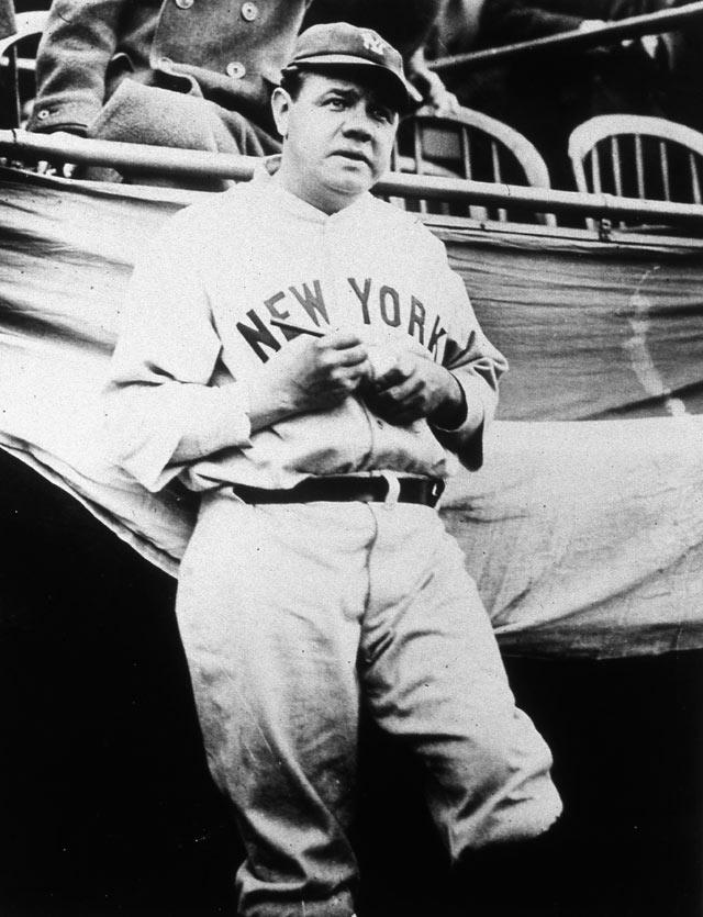 Virgil's Blog: New York Yankees x Babe Ruth [1932] Babe Ruth Yankees