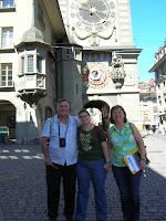 Torre del Reloj, Berna, Suiza, Clock tower, Bern, Switzerland,Tour de l'horloge, Berne, Suisse, vuelta al mundo, round the world, La vuelta al mundo de Asun y Ricardo
