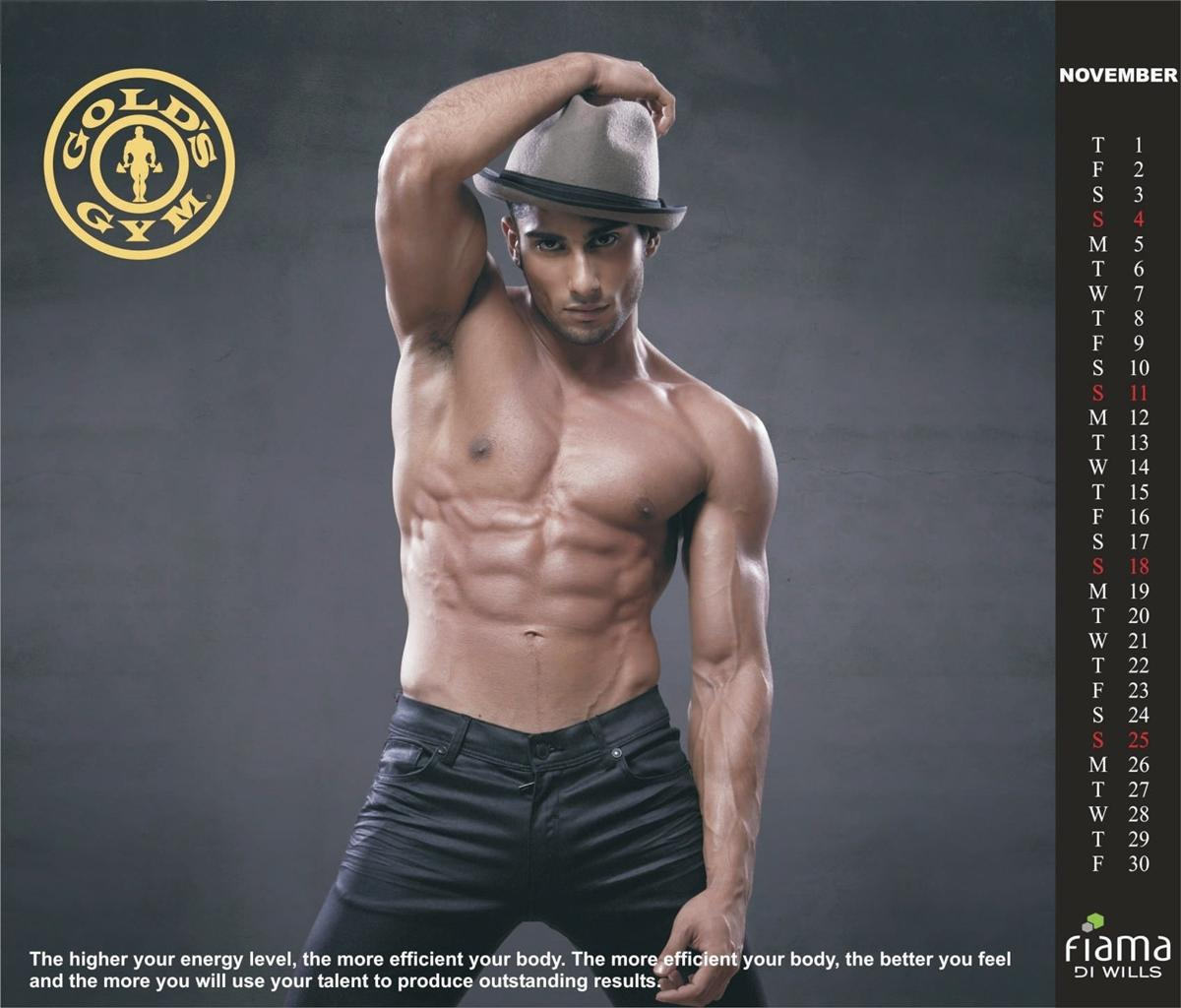 gold's gym india launch 2013 calendar | ritemail