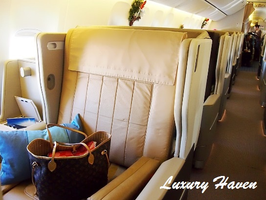 singapore airlines boeing 777-300er business class