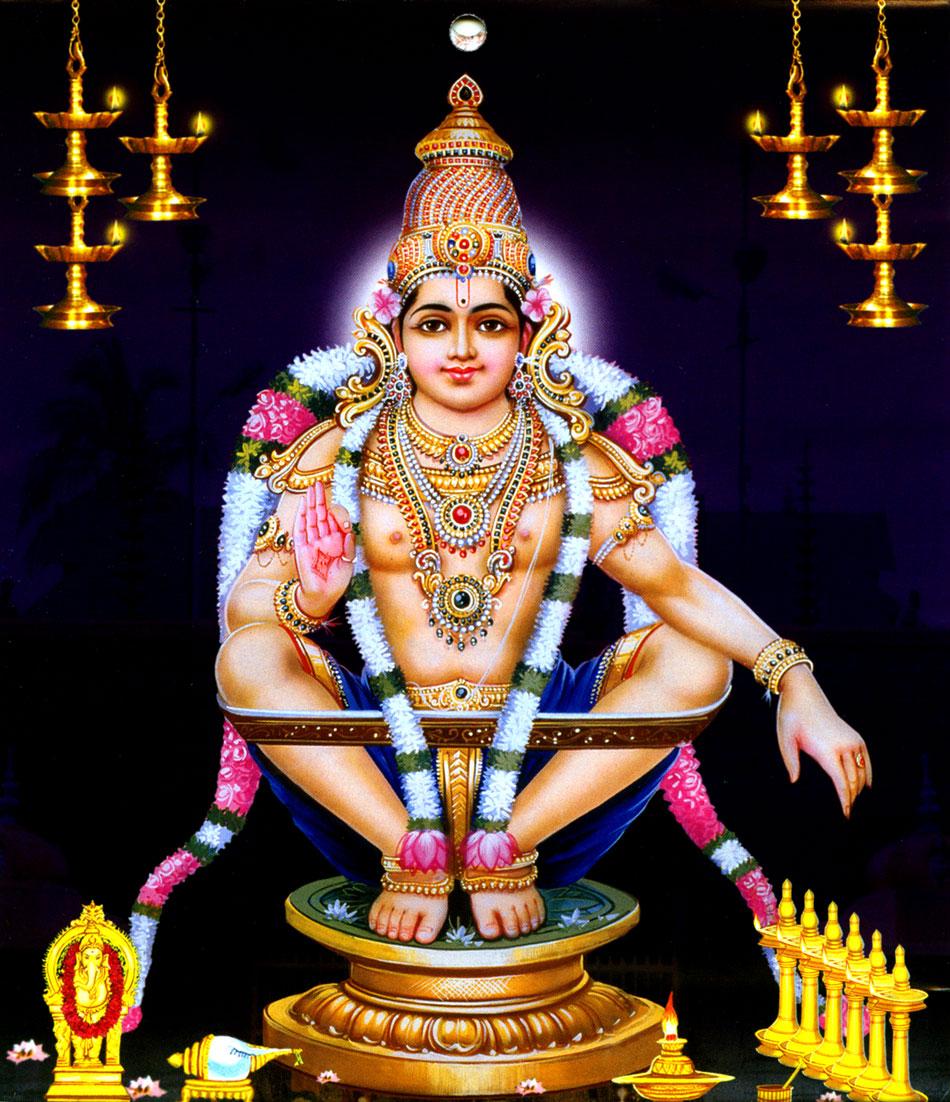Gods Wallpaper: Lord Ayyappan Wallpapers