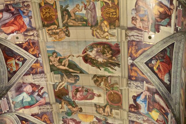 大塚国際美術館 アダムの創造