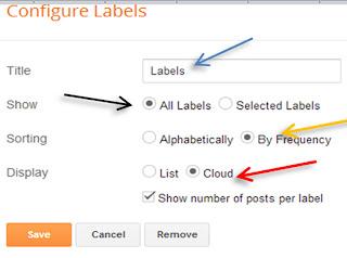 brick label in blogger