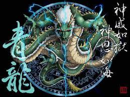 4 Dewa Mata Angin, naga timur, shryiuu, dewa musim semi