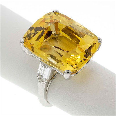 yellow sapphire jewellery