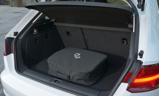Audi A3 Sportback e-tron open boot
