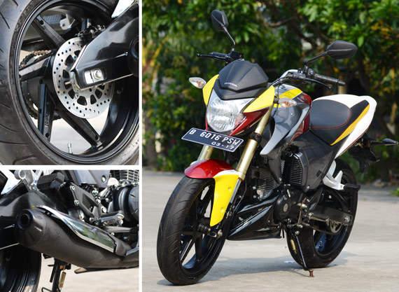 Spesifikasi Modifikasi Honda New Megapro 2012: title=