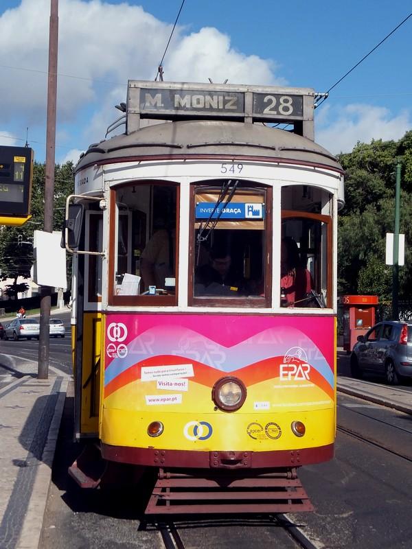 Lisbonne Lisboa tram 28