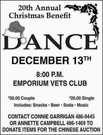 12-13 Dance At Emporium Vets Club