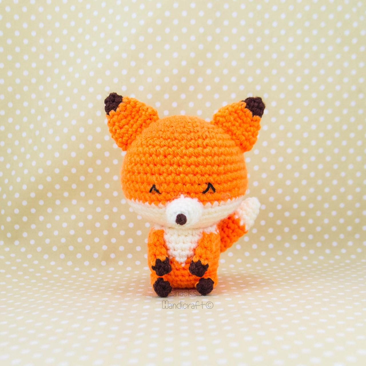 Kito the Fox ~ Snacksies Handicraft Corner