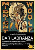 MIDNIGHT WOOLF en Bar Labranza